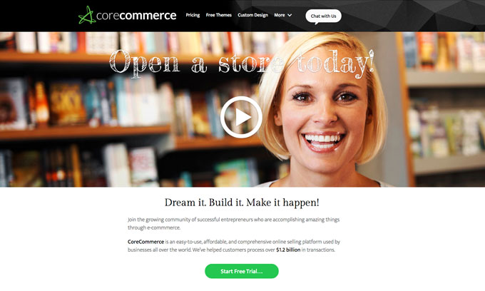 corecommerce redesign